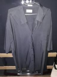 Camiseta social preta