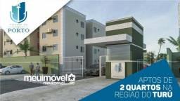 32*apartamentos na regiao do TURU com 2 quartos,entrada facilitada e mensais de 200,00