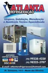Refrigeração Manutenção Instalação e limpeza