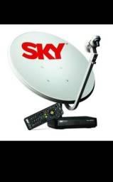Vendo uma antena da Sky