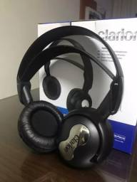 2 headset red clarion