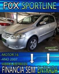Baita carro!!Fox Sportiline 1.6 2007 Completo