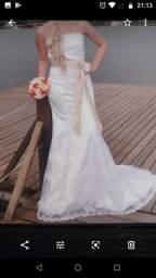 Vestido de noiva + Sapatos