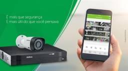 R$ 900 Kit de câmeras Cftv Intelbras a partir de R$ 900,00
