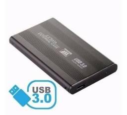 Título do anúncio: Case Gaveta Hd Externo Usb 3.0 Sata 2.5 Notebook Pc Xbox Ps3