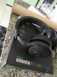 Fone Razer Kraken Chroma 7.1
