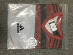 Camisa oficial Flamengo rubro-negra