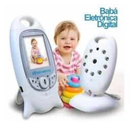 Babá Eletrônica Câmera Visão Noturna Digital 2p Sem Fio