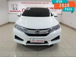 Honda City 1.5 lx 16v flex 4p automático - 2016