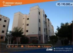 Apartamento Premium Village - 3 Quartos