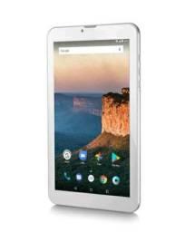Tablet Multilaser M9 3G 1GB 8GB 9 Pol. Quad Core Dual Câmera Dual Chip Prata