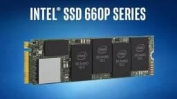 Ssd Intel 660p M.2 80mm 2TB, Leitura 1800MBs e Gravação 1800MBs