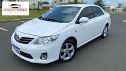 Toyota Corolla GLI 2014 Automatico Branco