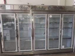 Balcao 5 portas de frios laticínios e bebidas