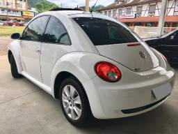 VW New Beetle - Branco - interior Bege :: particular