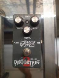 Pedal distorção guitarra