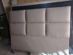 Cabeceira de cama box Queen só 450 reais aceito cartão e dependendo d bairro facilito