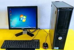 PC Dell Optiplex 320 Dual Core 4gb mem ssd 240gb monitor Dell 15 wifi garantia