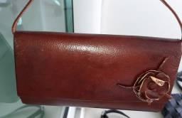 bolsa pequena em couro