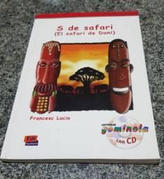 Livro paradidático S de safari