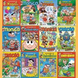 Título do anúncio: Turma da Monica - Coleção digital todos os personagens e editoras hqs