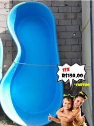 Título do anúncio: CM-Piscina Infantil Feijãozinho - Fabricação Anil 30 anos