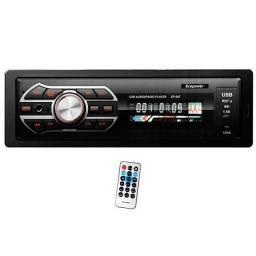 Som Automotivo Ecopower EP-607 com Bluetooth/USB/SD - Preto (entrega grátis)