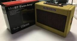 Título do anúncio: Fender Mini Amp - cubo fender com drive pequeno