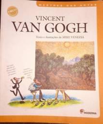 Livro: Vincent Van Gogh de Mike Venezia (Mestres das Artes)
