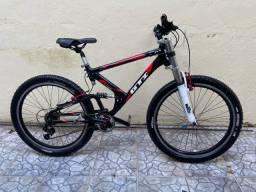 Título do anúncio: Vendo bicicleta aro 26 com quadro GTI full suspension