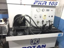 Bancada digital para teste de direções hidráulicas da linha leve e pesada FKR10S