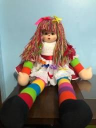 Título do anúncio: Boneca de pano Emília do sítio do pica-pau amarelo