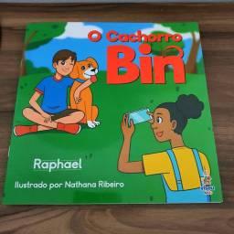 Livrinho de poesia infantil: O Cachorro Bin (2021)