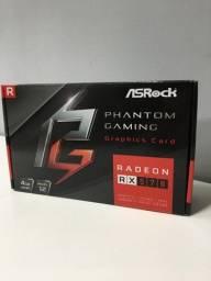 Título do anúncio: Placa de vídeo RX 570 4 GB ( LOJA FÍSICA )