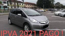 Honda Fit /Único Dono/Completo /Ent.+599,90*/1° pra 60 dias*/Trans. Grátis*/IPVA 2021 Pago