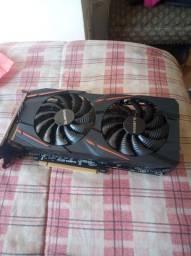 RX 570 gigabyte 4GB com VRM queimado