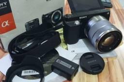 Sony NEX F3 Mirroless APS 16.1 Mpixels + 1 objetiva