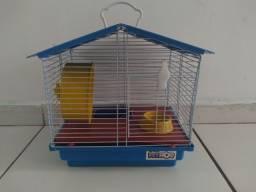 Título do anúncio: Gaiola para hamster com todos os acessórios