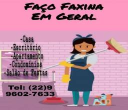 FAÇO FAXINA