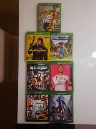 Vendo jogos usados de Xbox One