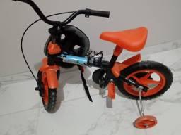 Bicicleta infantil em estado de nova