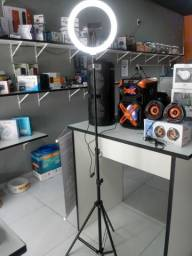 Ring Light com tripé