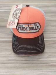 Novidade boné farm bulls