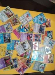 Título do anúncio: Lote 100 cartas sortidas pokemon tcg