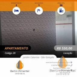 Título do anúncio: São Gonçalo - Apartamento Padrão - Jardim Catarina