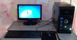 Título do anúncio:   Pc Completo, Dual Core, 4Gb Ram, Hd 250GB, Monitor 16