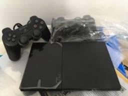 PS2 Slim Novo Oportunidade Para Coleção