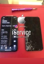 Título do anúncio: Troca de tela iPhone todos os modelos
