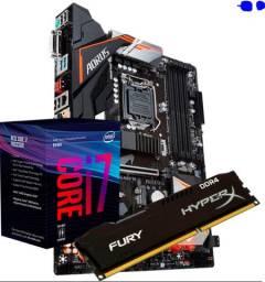 Vendo kit i7 9700k