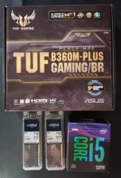 Kit Intel (Placa Mãe, Processador e Memória)